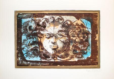 Lithograph Berman - Medusa I