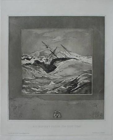 Etching And Aquatint Klinger - Meer (Sea), from the portfolio Vom Tode