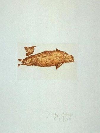 Etching And Aquatint Beuys - Meerengel Robbe III