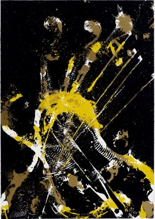 Screenprint Arman - Melody for Strings 2