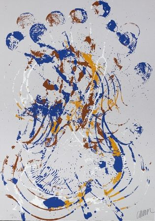 Screenprint Arman - Melody for Strings I