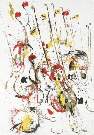 Screenprint Arman - Melody for Strings III