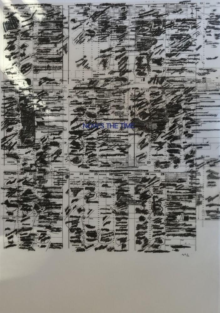 Screenprint Buraglio - Memento, Now's The Time