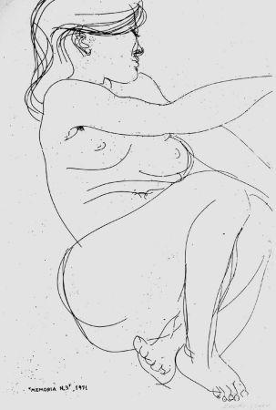 Engraving Greco - Memoria n.3