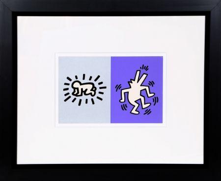 Screenprint Haring - Memorial Tribute Invitation