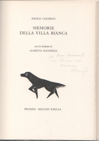 Illustrated Book Manfredi - Memorie della villa bianca