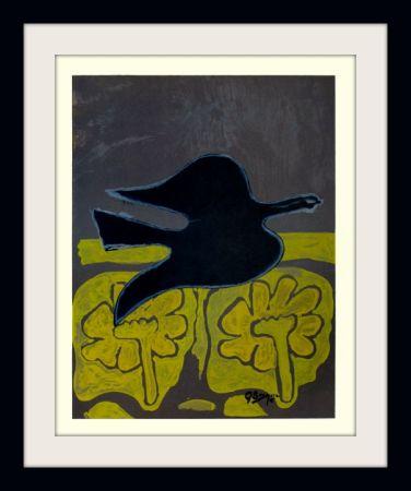 Lithograph Braque - Menton