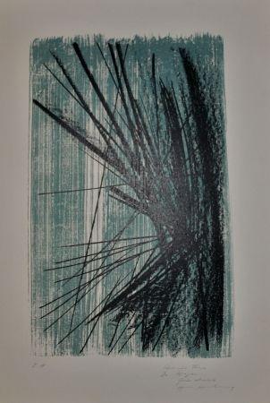 Lithograph Singier - Mer-Espace-Reflet