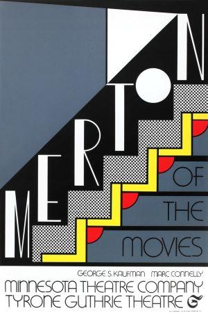Screenprint Lichtenstein - Merton of the Movies