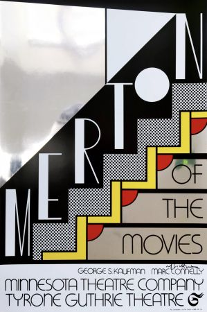 Screenprint Lichtenstein - Merton Of The Movies Poster (Hand Signed)