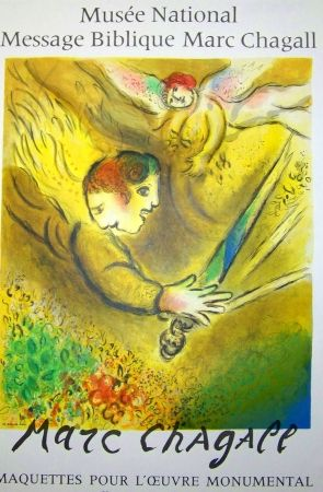 Poster Chagall - Message biblique