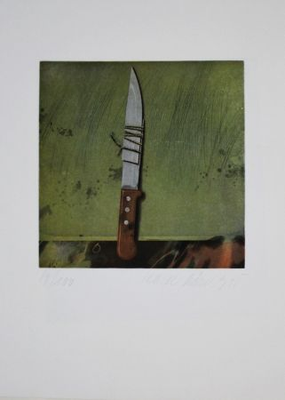 Etching And Aquatint Rösel - Messer / Knife