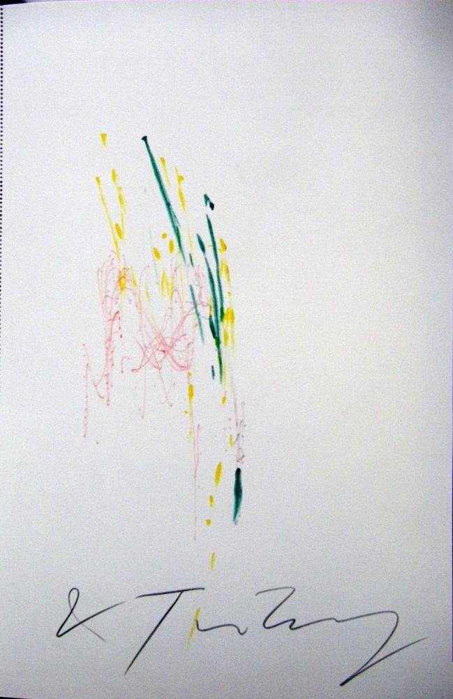 Monotype Tinguely - Meta matic no6