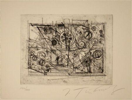 Engraving Tinguely - Metaharmonie III