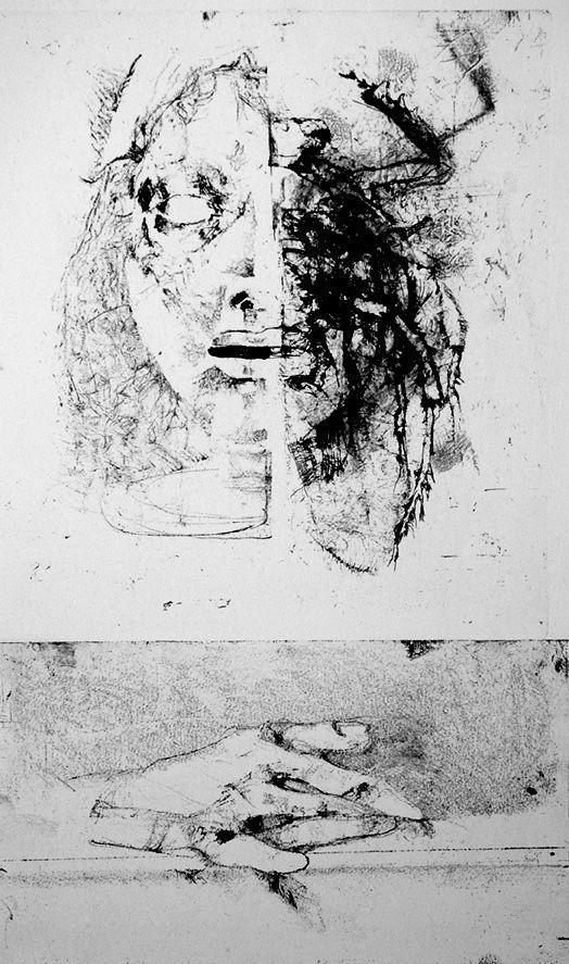Etching Vespignani - Metamorfosi I