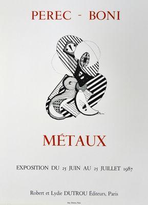 Poster Boni - Metaux
