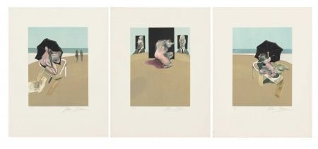 Etching Bacon - Metropolitan Triptych (Large Version)