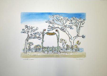 Engraving Tamburi - Metropolitana