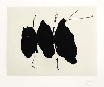 Lithograph Motherwell -  Mexican Elegy, from the Octavio Paz Suite (1987-88)