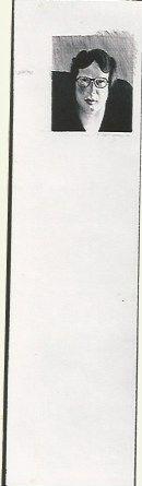 Lithograph Hockney - Michael Crichton