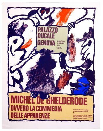 Poster Alechinsky - Michel de Ghelderode, 1980