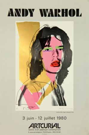 Screenprint Warhol - Mick Jagger