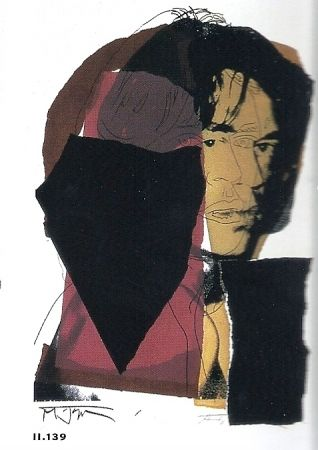 Lithograph Warhol - Mick Jagger 11.142