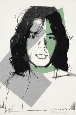 Screenprint Warhol - Mick Jagger (FS II.138)
