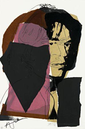 Screenprint Warhol - Mick Jagger (FS II.139)