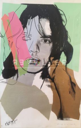 Screenprint Warhol - Mick Jagger (Fs Ii.140)