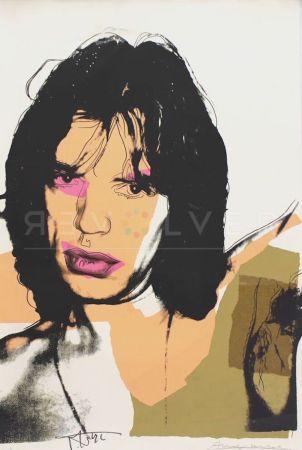 Screenprint Warhol - Mick Jagger (FS II.141)