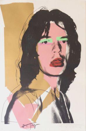 Screenprint Warhol - Mick Jagger (FS II.143)