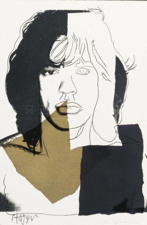 Screenprint Warhol - Mick Jagger (FS II.146)