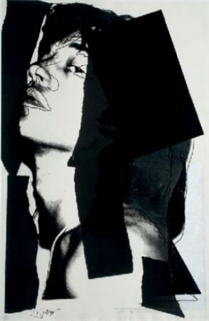 Screenprint Warhol - Mick Jagger II.144