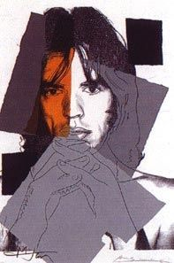 Screenprint Warhol - Mick Jagger II.147