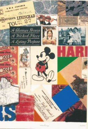 Screenprint Blake - Mickey