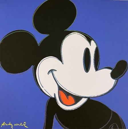Offset Warhol - Mickey Mouse (Blue)