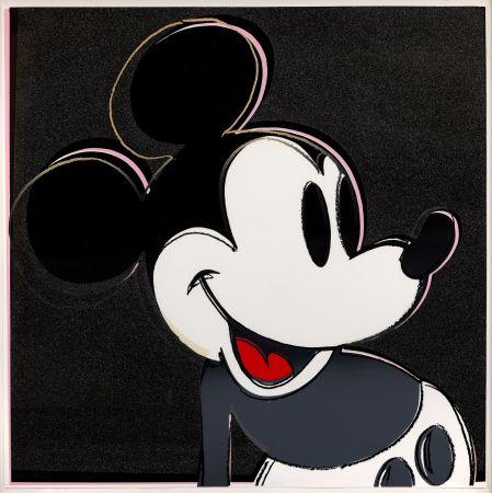 Screenprint Warhol - Mickey Mouse (FS II.265)