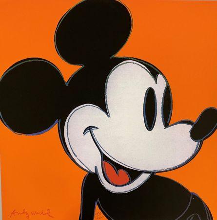 Offset Warhol - Mickey Mouse (Orange)