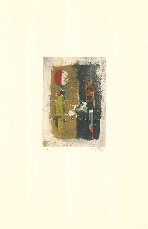 Etching And Aquatint Friedlaender - Mikrophonie