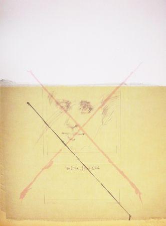 Lithograph Bru - Milena