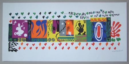 Lithograph Matisse - Mille et une Nuits, 1950
