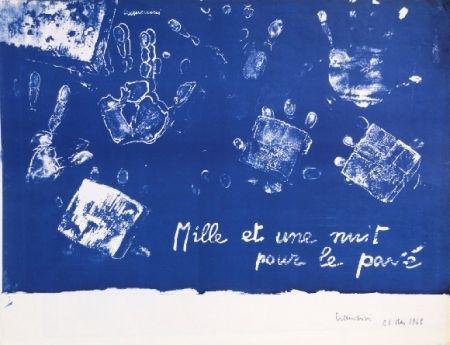 Lithograph Cremonini - Mille et une nuits pour le pavé