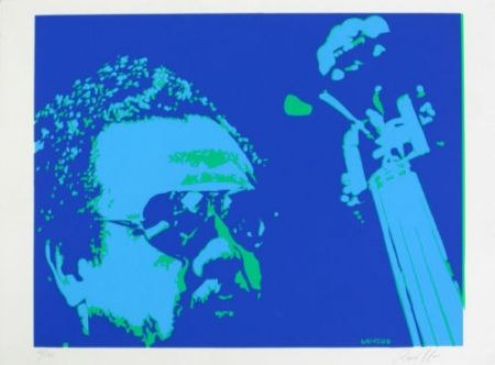 Screenprint Rancillac - Mingus