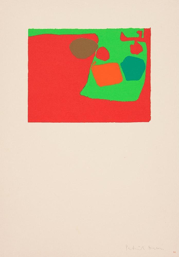 Screenprint Heron - Mini February V: 1974