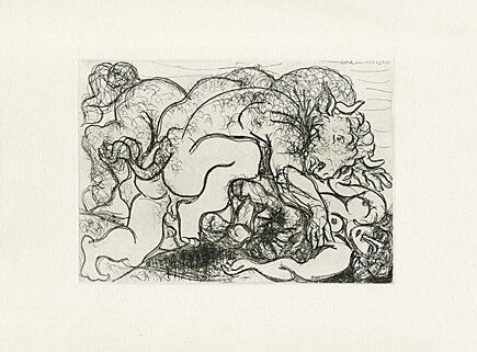 Engraving Picasso -