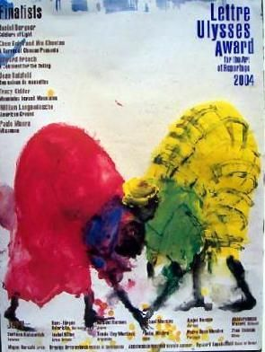 Poster Barcelo - Miquel Barceló Lettre Ulysses Award