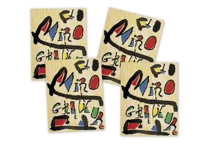 Illustrated Book Miró - MIRÓ GRABADOR - 4 VOL. (1928 - 1983) Catalogue raisonné engravings of Joan Miró