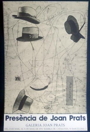 Poster Miró - Miró - Prèsencia de Joan Prats 1976