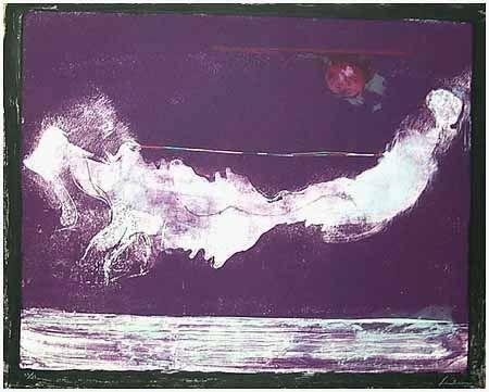 Lithograph Frankenthaler - Mirabelle (1985-90)